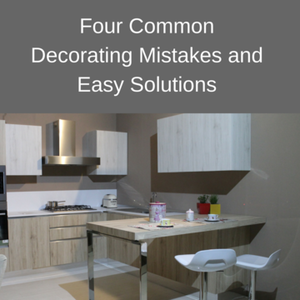 Four common decorating mistakes and easy solutions - Common mistakes in interior decor ...